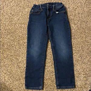 Gap boys stretch slim blue jeans